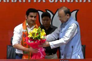 Gautam Gambhir joins BJP, says PM Modi's vision inspired him