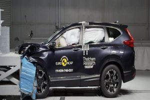 Euro NCAP awards 5-star safety rating to 2019 Honda CR-V