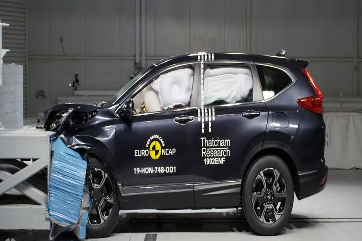 Euro NCAP awards 5-star safety rating to 2019 Honda CR-V