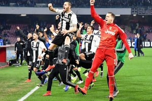 Juventus notch win over Napoli