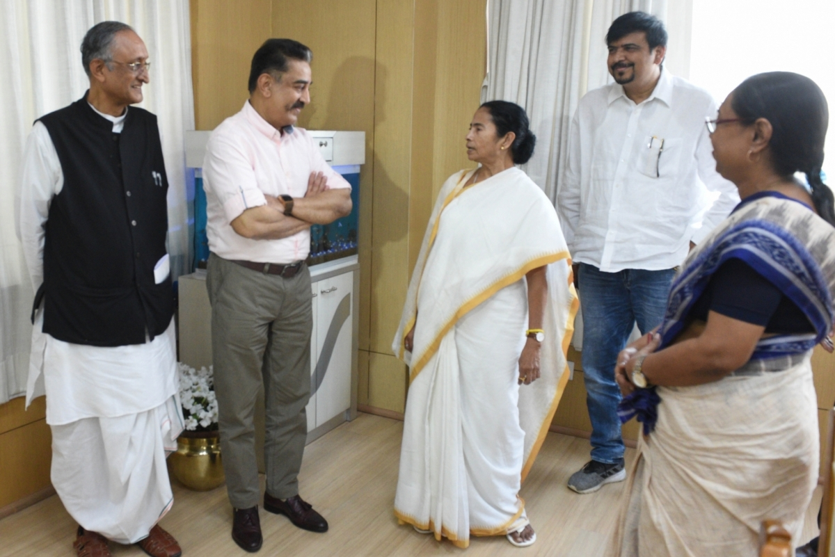 Kamal Haasan, TMC, Andaman, Makkal Needhi Maiam, Mamata Banerjee