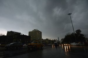 Kolkata weather: Storm and after