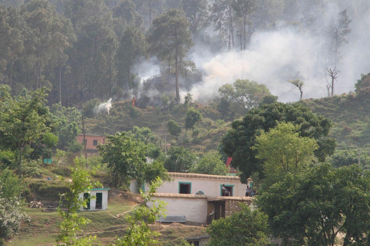 Heavy firing, LoC firing, LoC, Line of Control, Akhnoor, Jammu & Kashmir