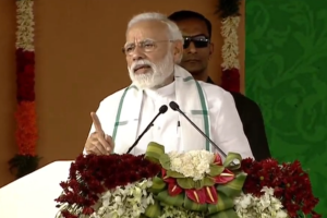 In Tamil Nadu's Kancheepuram, PM Modi lashes out at Opposition