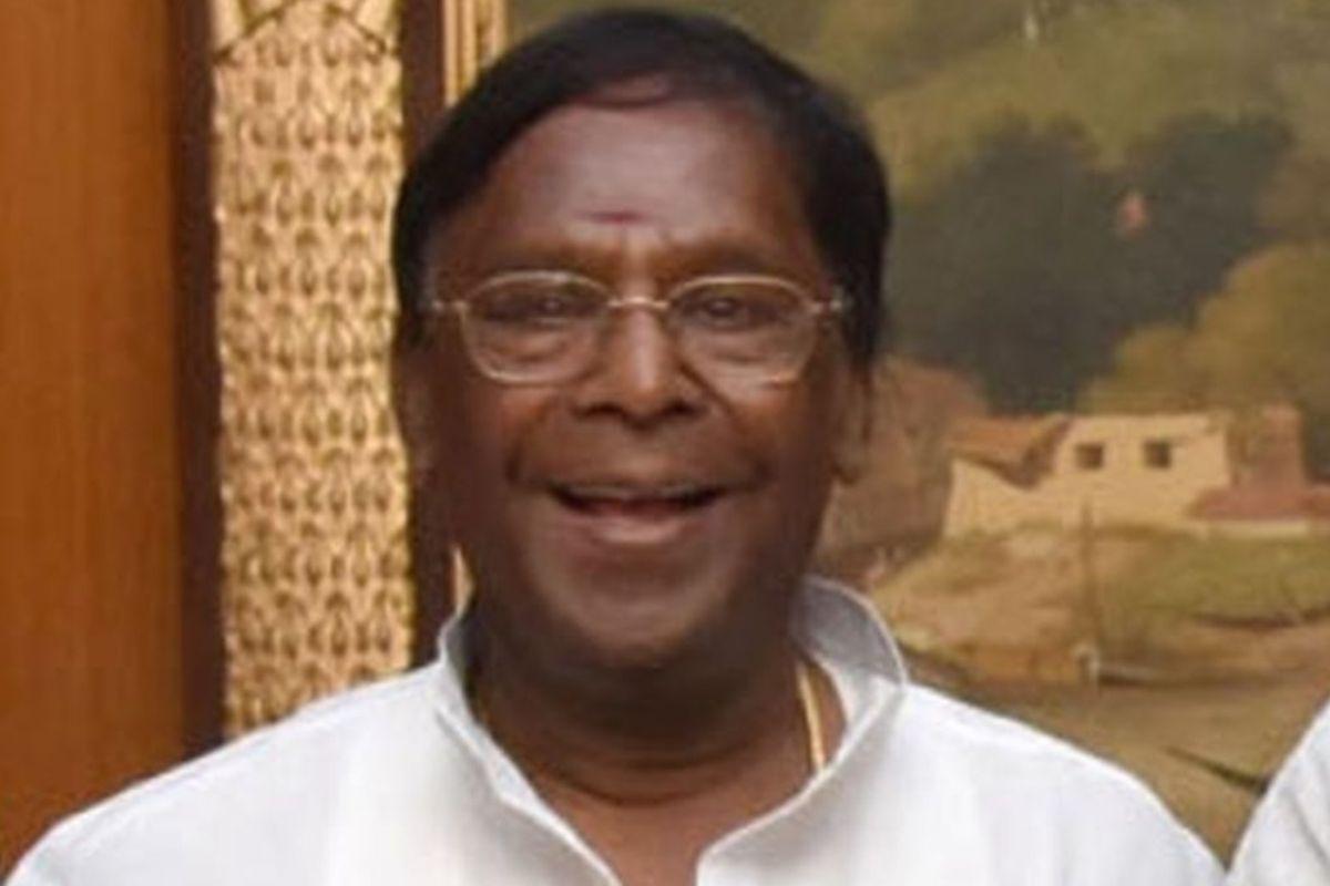 AIADMK, Puducherry CM, Model code of conduct, V Narayanasamy