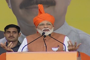 Entire country talking in one voice, Congress in a different voice: PM Modi in Akhnoor