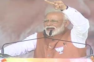PM Modi trains guns on Congress in Uttarakhand's Rudrapur