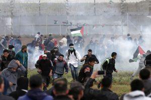 Four killed as thousands protest at border, but Gaza-Israel truce holds