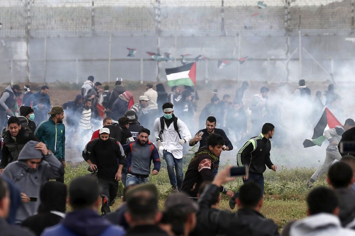 Palestinian protest, Border, Gaza-Israel, Israeli fire, Gaza City