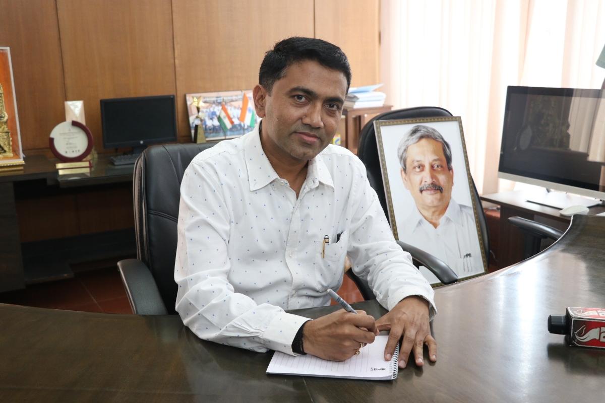 Goa, Coalition government, Floor test, Goa Chief Minister, Pramod Sawant