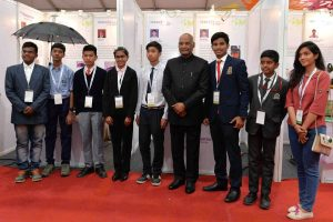 President Ram Nath Kovind gives away National Grassroots Innovation Awards