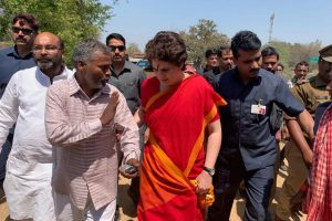 Priyanka Gandhi Vadra reaches Varanasi, completes three-day boat ride on Ganga