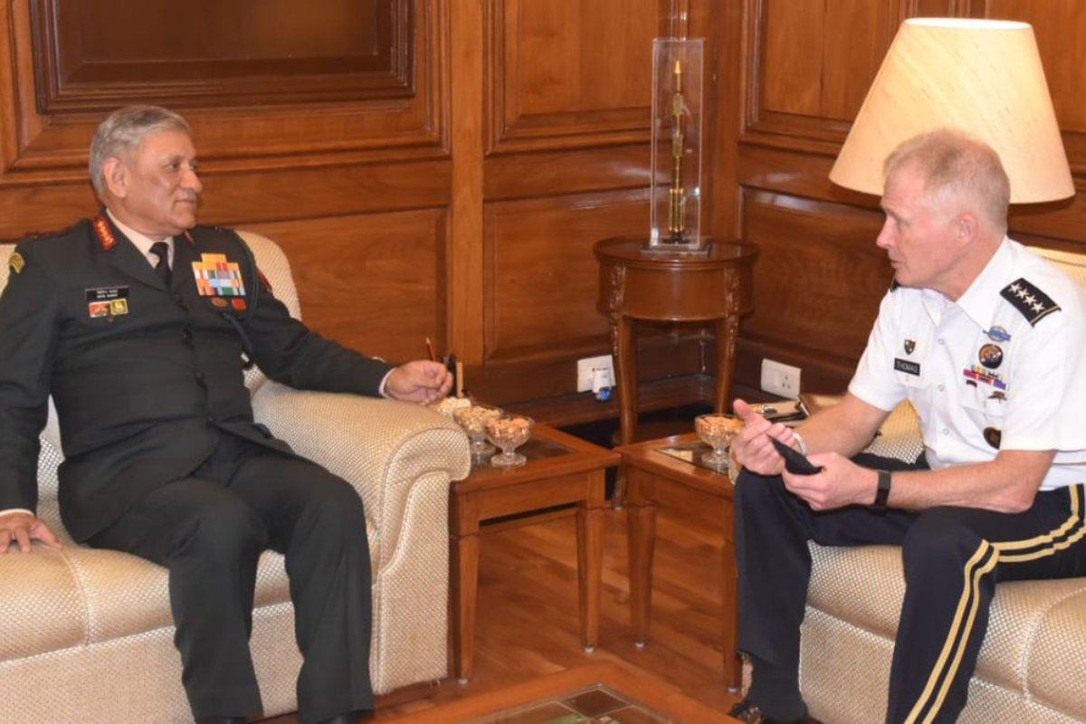 India, US, Army Chief, General Bipin Rawat, Pak support terror
