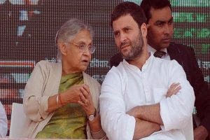 No Congress-AAP alliance in Delhi for Lok Sabha polls: Sheila Dikshit after meeting Rahul Gandhi