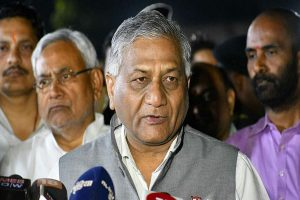 Count mosquitoes I killed? VK Singh jibes at Cong for questioning IAF strike impact