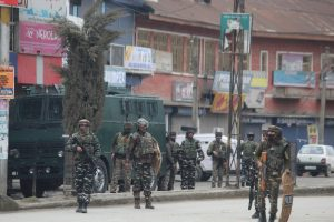Three gunfights in J-K, two cops injured in grenade attack