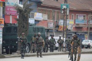 Three gunfights in J-K, two cops injured in grenade attack