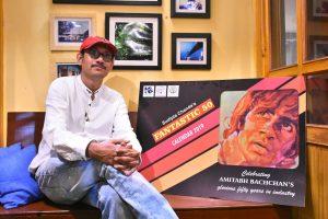 Fantastic 50: An Amitabh Bachchan calendar by Kolkata poster collector