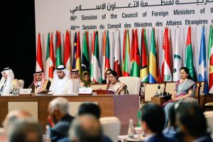 We must tell nations sponsoring terror to stop: Sushma Swaraj at OIC