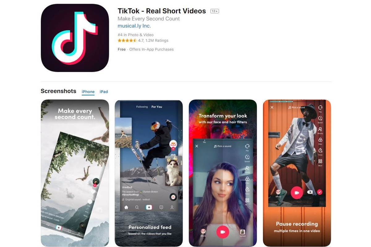 TikTok, short-video app, App, Douyin, Kuaishou, China, Cyberspace Administration of China, Bytedance, WeChat