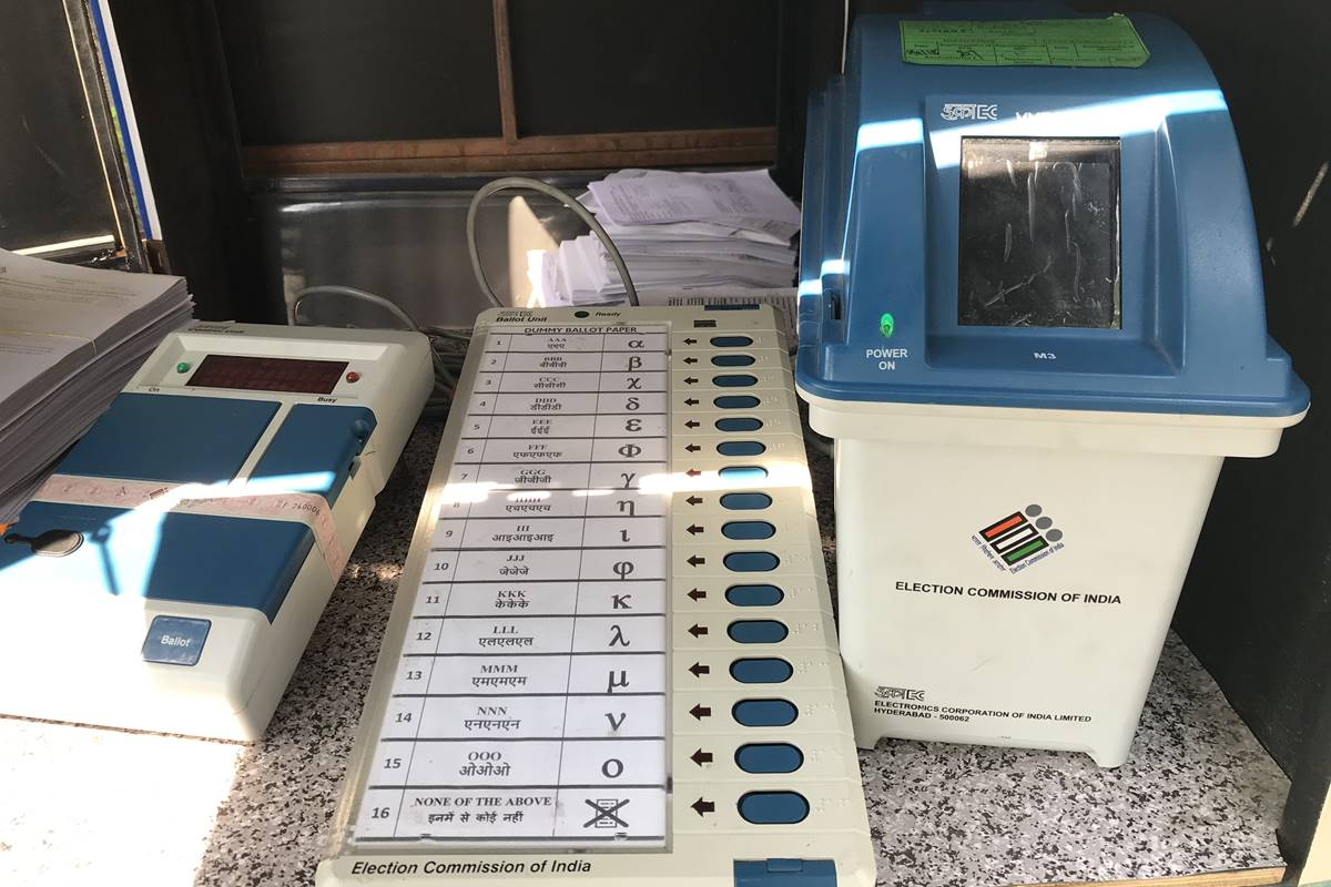VVPAT machine, VVPAT machines, EVM, Elections, Election Commission of India, ECI, Lok Sabha elections 2019, Lok Sabha polls, LS polls, LS elections