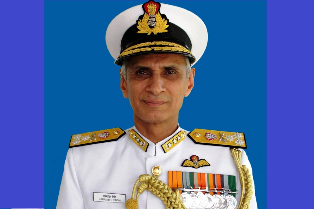 Vice Admiral Karambir Singh, Navy chief, Indian Navy, Chief of the Naval Staff, Admiral Sunil Lanba, Defence Ministry