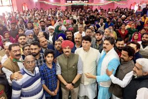 Dogra scion Vikramaditya launches campaign from Udhampur LS seat