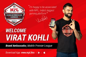Virat Kohli signed as brand ambassador of Mobile Premier League