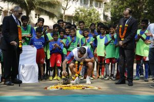 When budding Mumbai footballers met former Barcelona star Xavi Hernandez