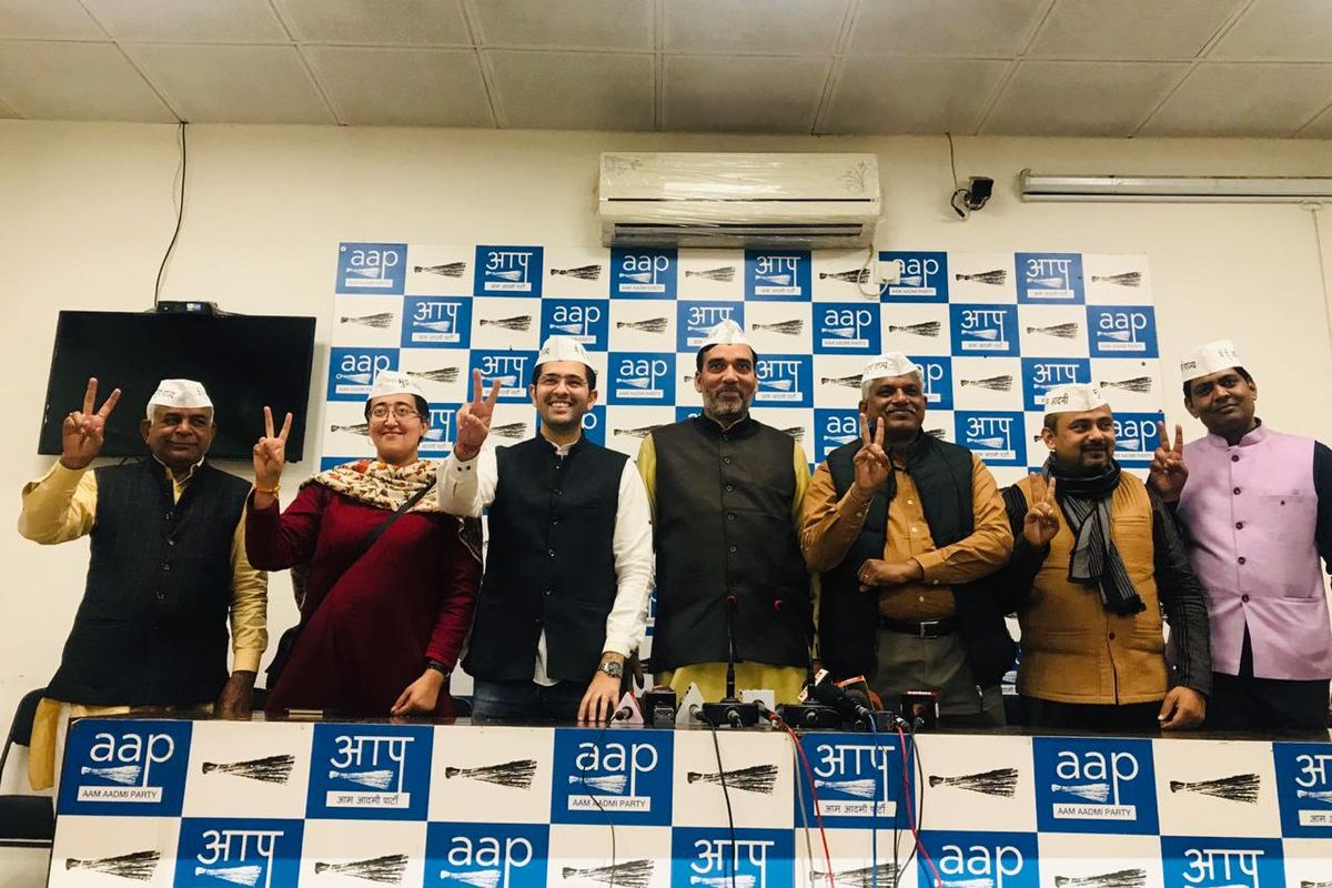 No alliance with Congress, AAP declares candidates on 6 out of 7 seats in Delhi for Lok Sabha polls