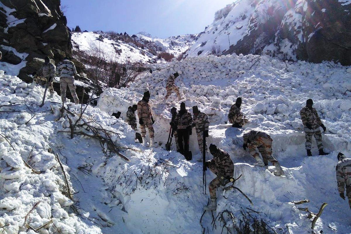 Kinnaur avalanche, Indian Army, 7 JK Rifles, Avalanche, Kinnaur, Himachal Pradesh, ITBP