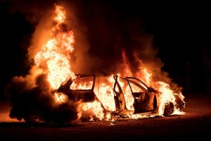 Explosion in private car on Jammu-Srinagar highway
