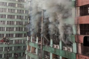 Massive blaze at Delhi's CGO Complex housing govt offices; 25 fire engines rushed in