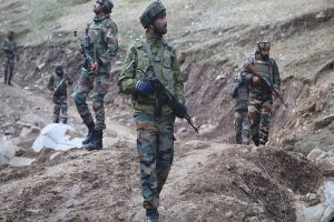 2 terrorists killed in encounter with security forces in J-K, 5 soldiers injured