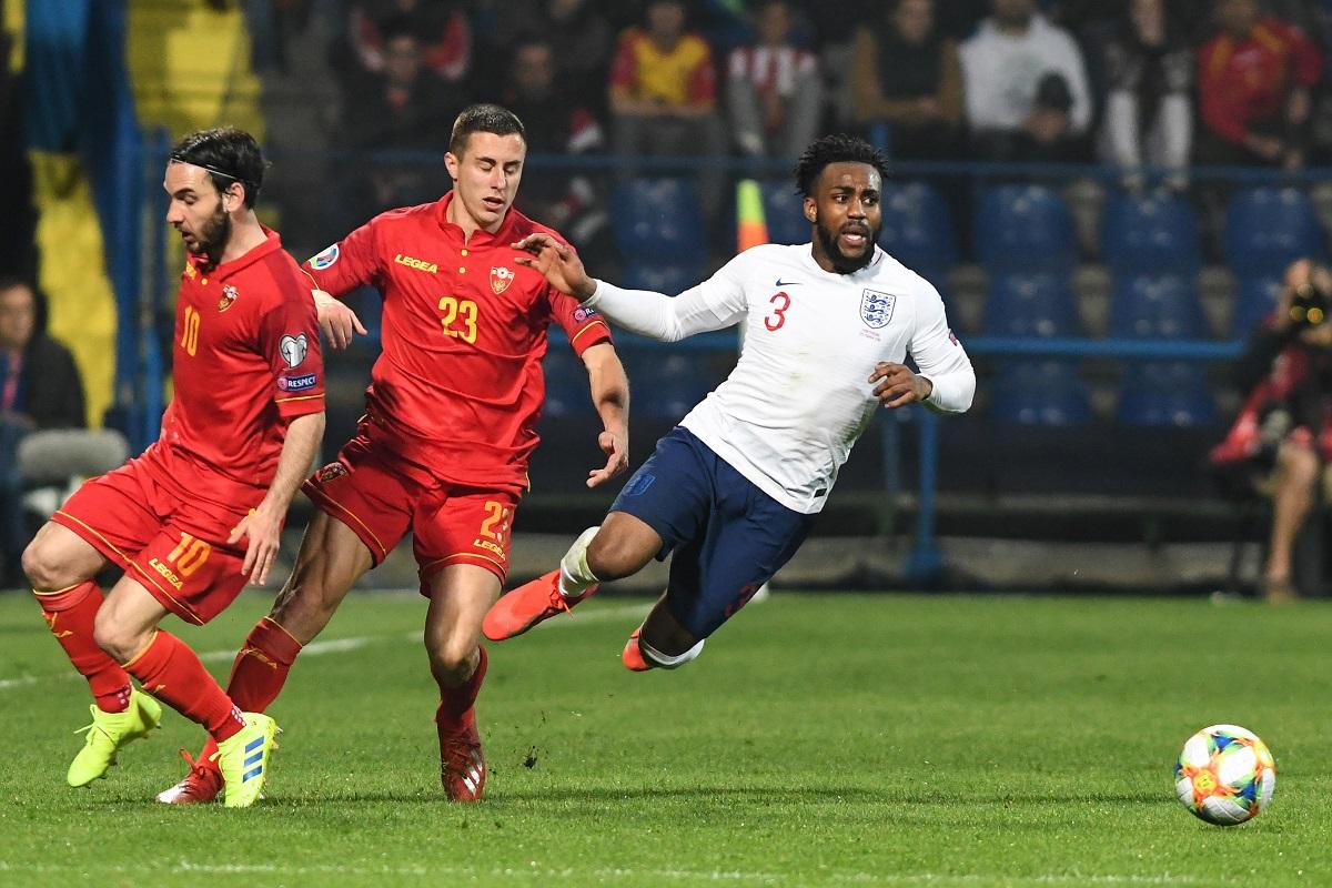 England thrash Montenegro 5-1 in Euro 2020 qualifier