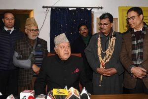 Farooq Abdullah stirs controversy, links Balakot strikes with LS polls