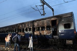 Railway coach set on fire to enact Godhra train incident for documentary on PM Modi
