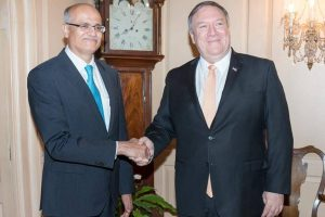 Vijay Gokhale calls on Mike Pompeo; India, US ask Pakistan to dismantle terror infrastructure