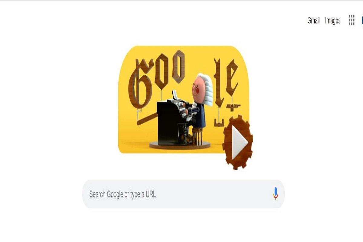 Google doodle, Johann Sebastian Bach, Google, Google doodle Johann Sebastian Bach