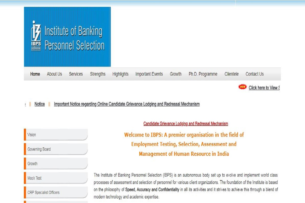 ibps.in, Institute of Banking Personnel Selection, IBPS PO Main Scorecard, IBPS PO Main exam