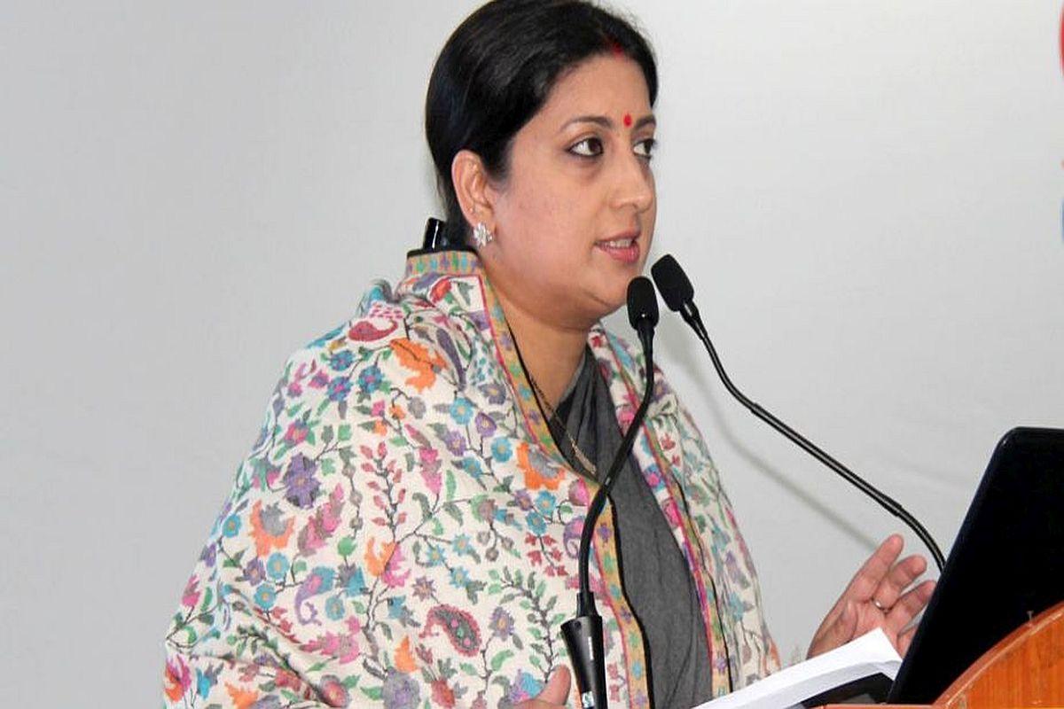 Smriti Irani says 'arrogant' Priyanka Gandhi 'insulted' Lal Bahadur Shastri