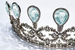 Christie's auction: Historic Fabergé tiara goes under hammer on 15 May