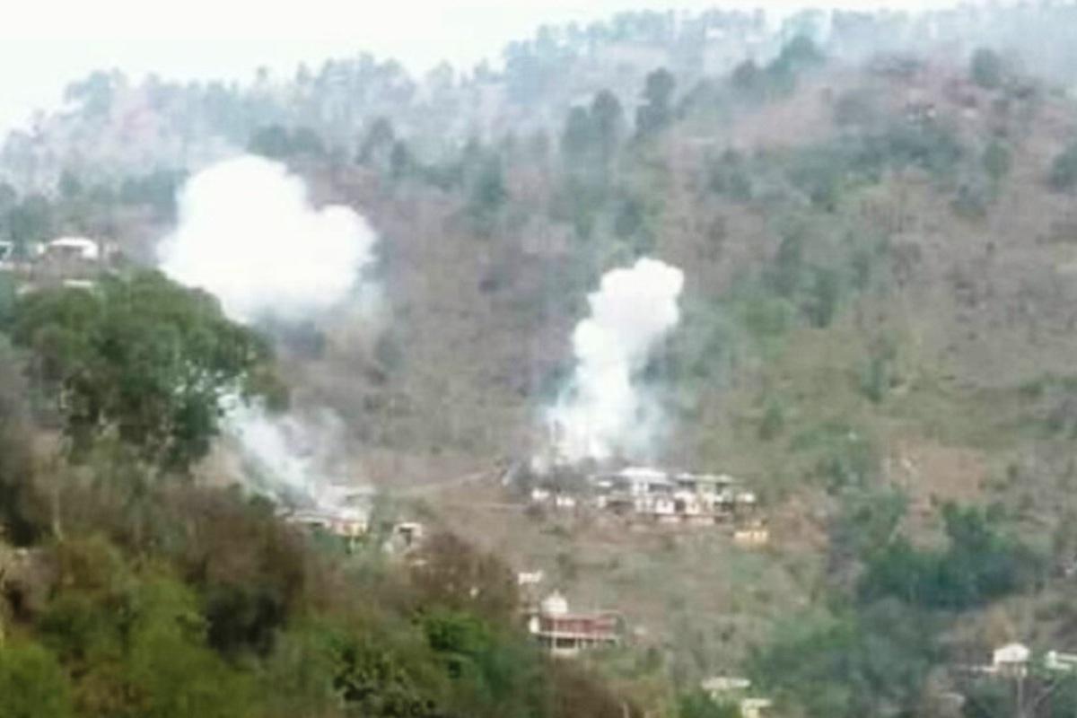 Heavy exchange of fire between Indian, Pakistani troops at Sunderbani sector