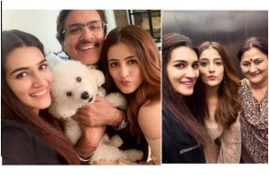 Kriti Sanon celebrates her father's birthday