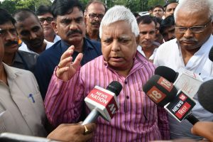 Supreme Court notice to Lalu Prasad Yadav on fodder scam bail