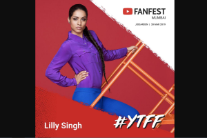Fill out a form and get a chance to meet YouTube sensation: Lilly Singh
