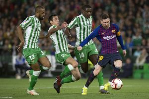 Lionel Messi hat trick leads Barcelona to 4-1 win over Real Betis