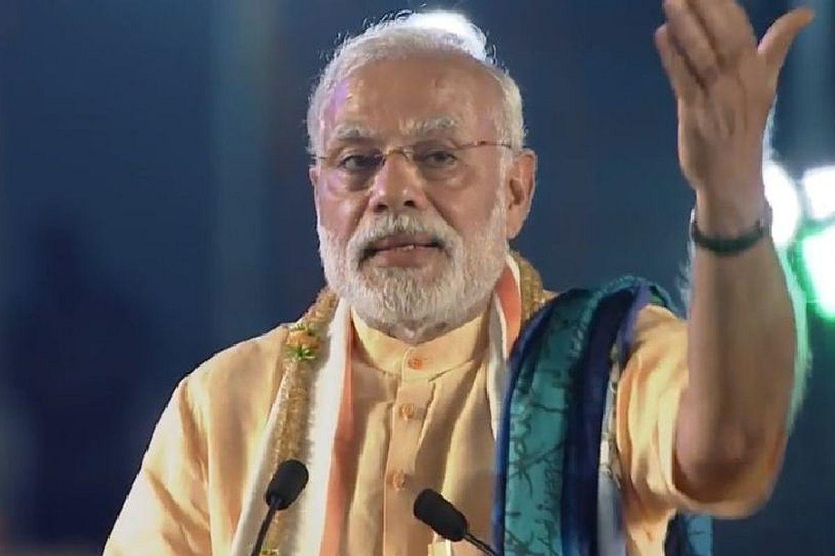 PM Modi, Meerut, BJP, Prime Minister Narendra Modi, Lok Sabha elections, Narendra Modi, Chief Minister Yogi Adityanath, Yogi Adityanath, Nitin Gadkari, Meerut-Delhi Expressway