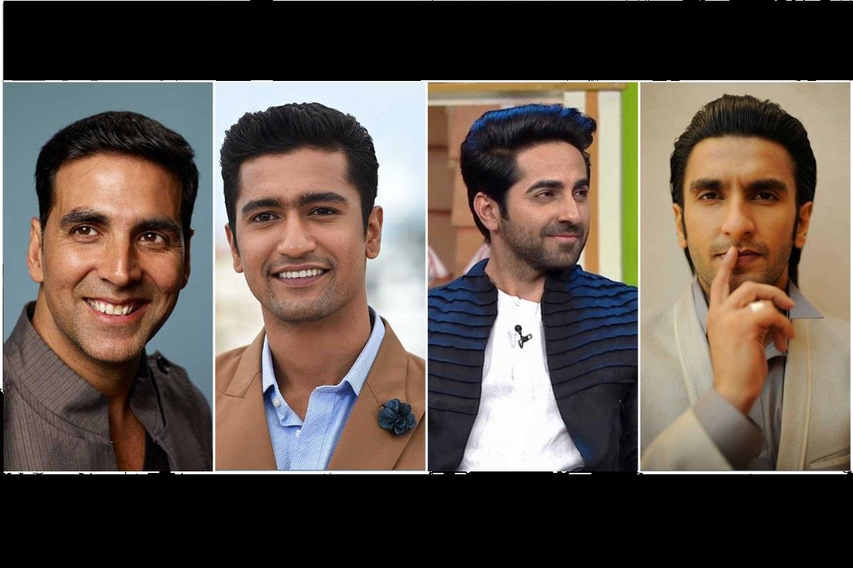 Akshay Kumar, Vicky Kaushal, Ayushmann Khurrana, Ranveer Singh