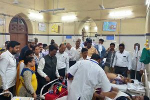 5 dead, many injured as foot over bridge collapses near CSMT in Mumbai